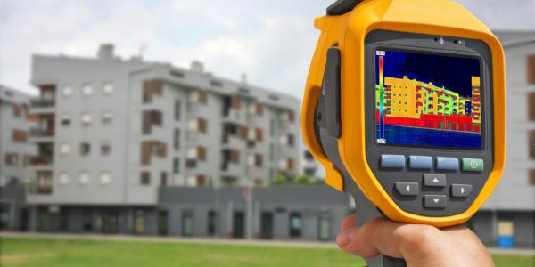 Термограммы зданий